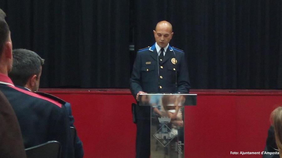El nou Inspector de la Policia Local d'Amposta es presenta a la ciutadania i entitats ampostines