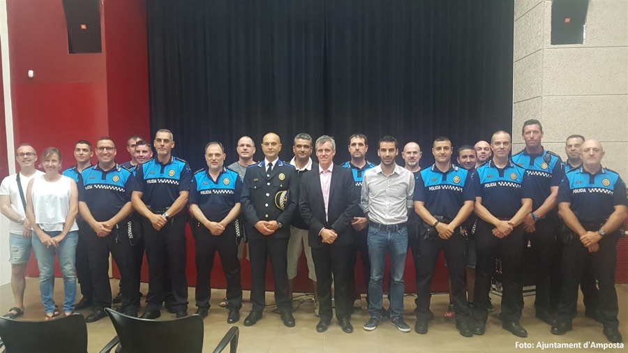 El nou Inspector de la Policia Local d'Amposta es presenta a la ciutadania i entitats ampostines   Amposta.info