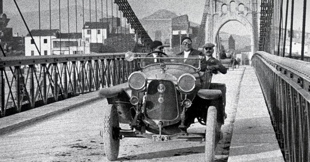 La revolució dels transports a l'Amposta de principi del s.XX