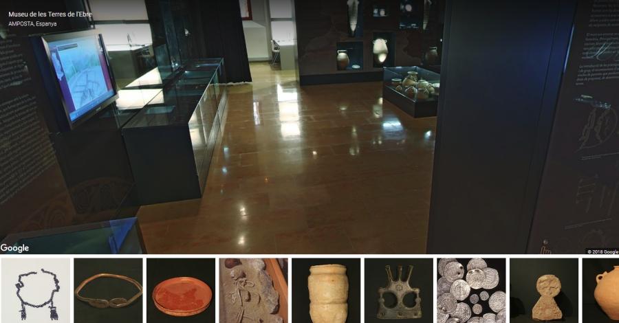 Un projecte del Departament de Cultura i Google permet visitar el Museu de les Terres de l'Ebre de forma virtual | Amposta.info