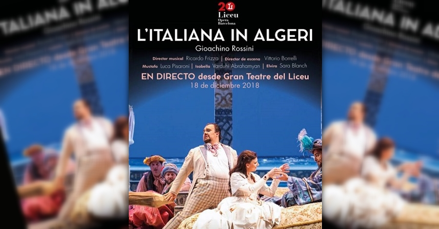 Òpera «L´Italiana in Algeri»