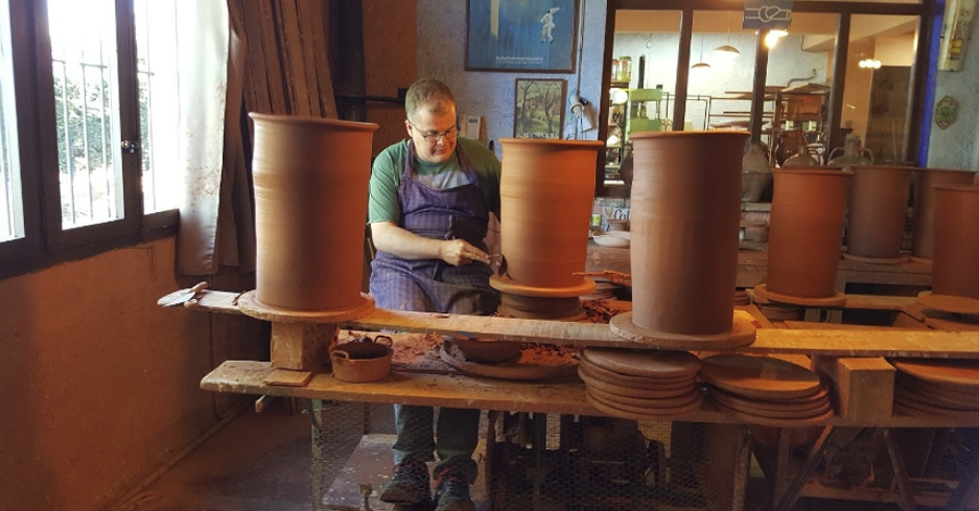 Passió per la ceràmica i terrissa tradicional