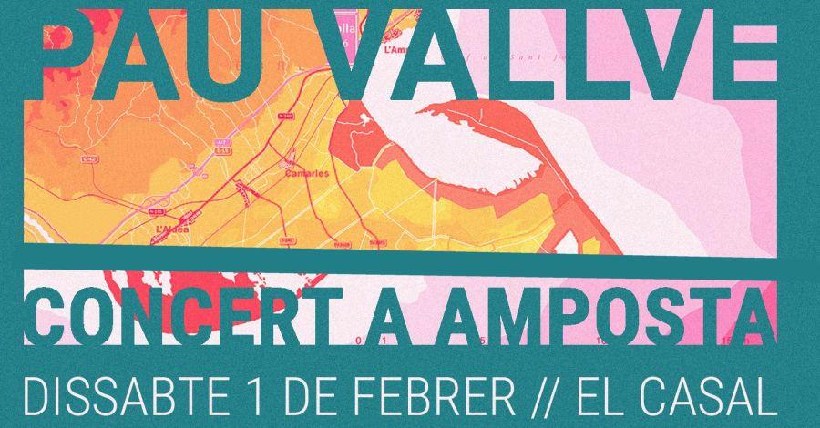 Concert de Pau Vallvé