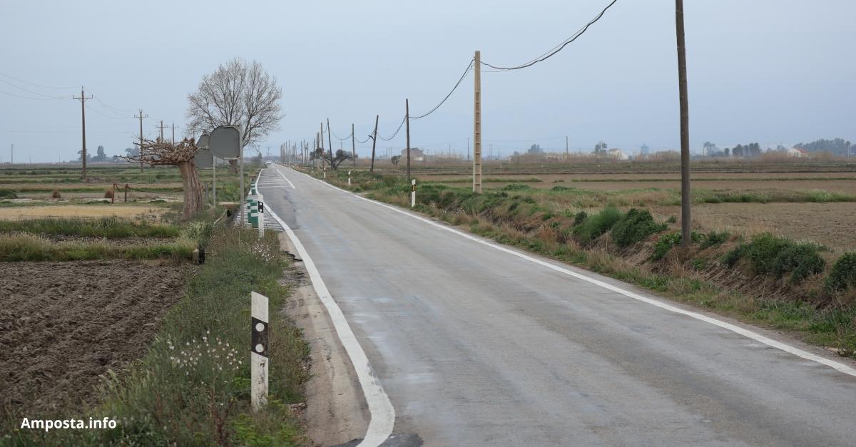 La plataforma per la reforma de la carretera de Poble Nou del Delta denuncia nous retards en els tràmits