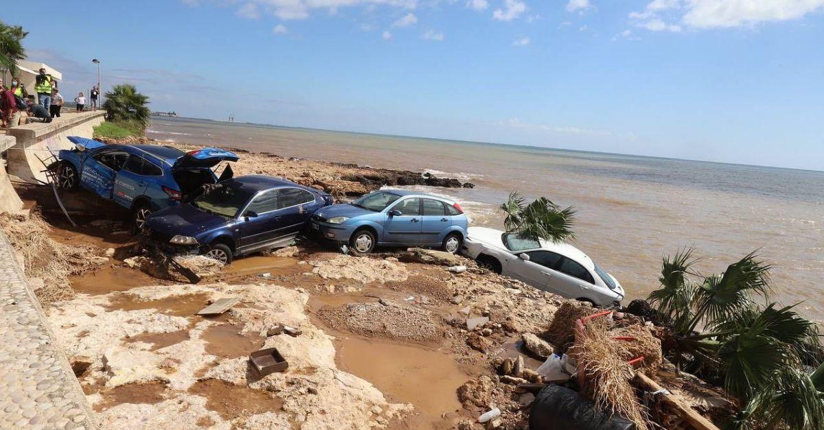 Les fortes pluges deixen més de 200 litres per metre quadrat a Alcanar i 100 als Alfacs