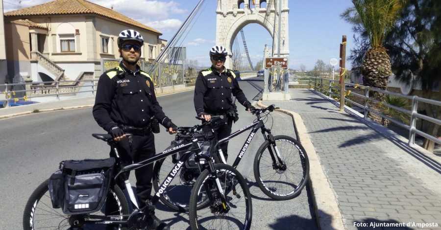 La Policia Local crea una unitat ciclista