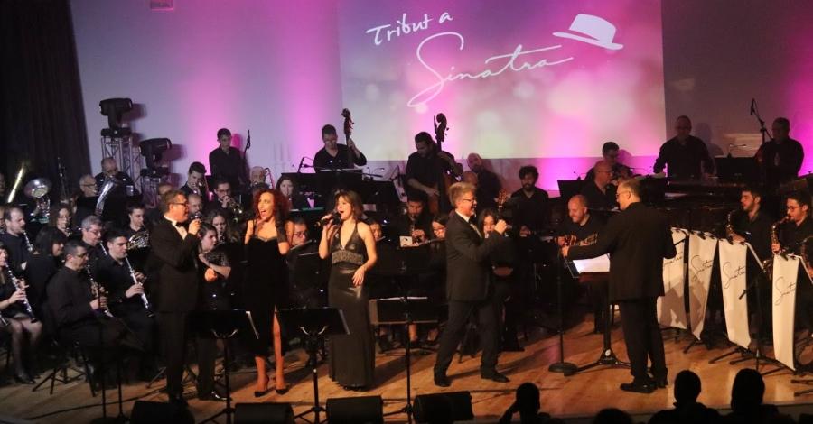 La Fila torna a entusiasmar amb l'espectacle musical Tribut a Sinatra | Amposta.info