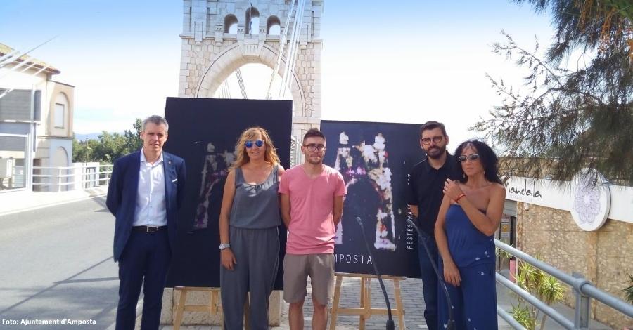 El Pont Penjant, imatge de les Festes d'Amposta 2017