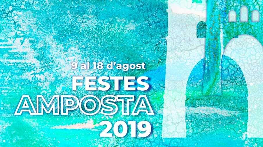 Festes Majors Amposta 2019 - Actes per al dissabte 10 d'agost