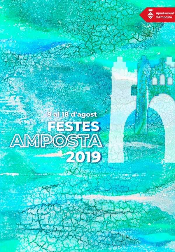 La dualitat entre l'aigua i la terra, concepte protagonista del cartell de les Festes Majors d'Amposta | Amposta.info