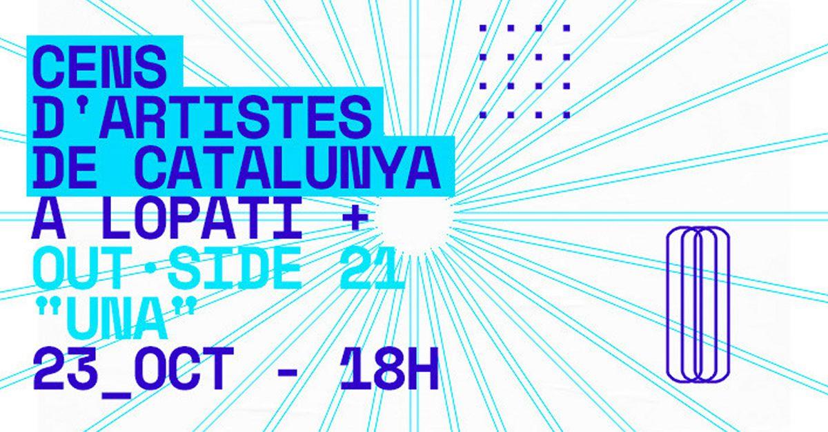 Lo Patí acull la presentació del Cens d'Artistes de Catalunya i el cicle OUTSIDE 21: UNA