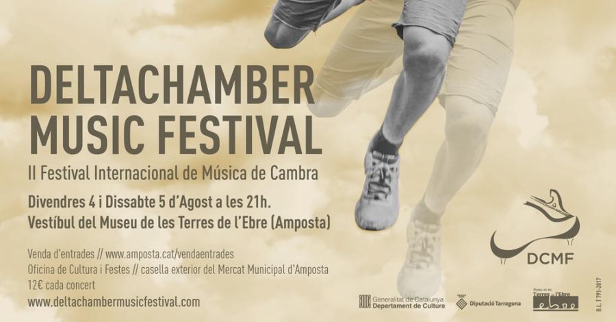 Segona edició del DeltaChamber Music Festival a Amposta