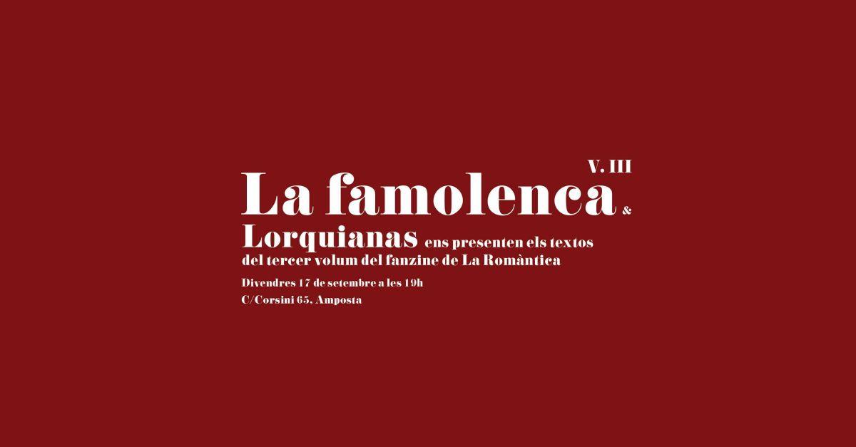 Presentació de la revista La Famolenca