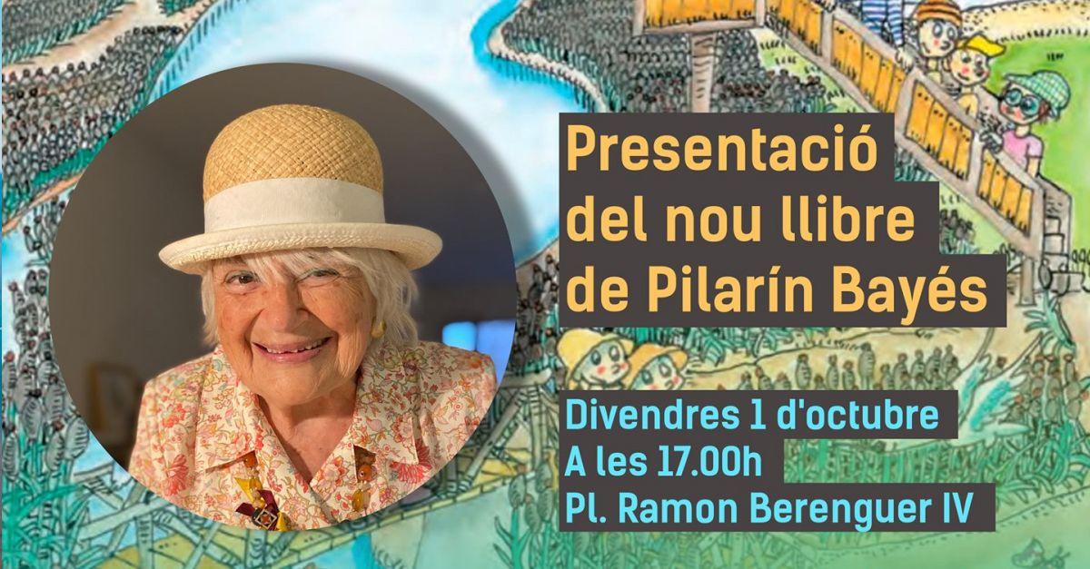 Presentació del nou llibre de Pilarin Bayés: Petita història de l'arròs del Delta de l'Ebre de l'arròs del Delta de l'Ebre