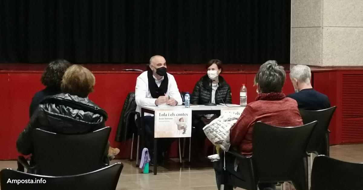 Jesús Serrano presenta Lola i els contes | Amposta.info