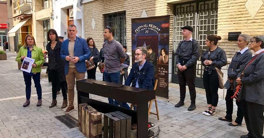 La Festa del Mercat estrenarà himne | Amposta.info