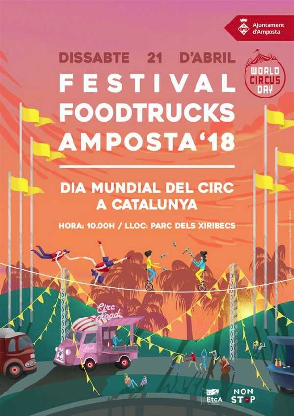 El Food Trucks Festival i el Dia Mundial del Circ ompliran d'activitats el Parc dels Xiribecs   Amposta.info