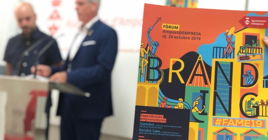 Potenciar la marca empresarial, l'eix vertebrador de la 8a edició del Fòrum Amposta Empresa