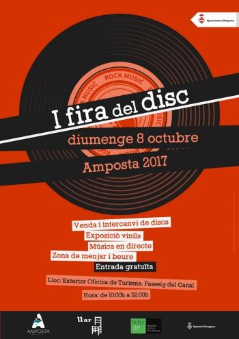 La I Fira del Disc, una nova oferta firal a Amposta   Amposta.info