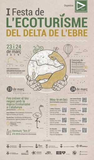 Mou-te pel Delta, primera Festa de l'Ecoturisme al Delta de l'Ebre   Amposta.info