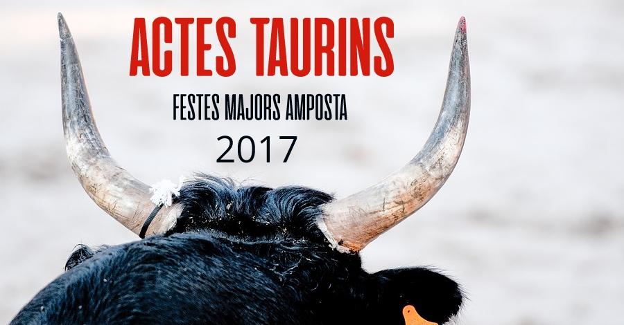Actes taurins Festes Majors Amposta 2017
