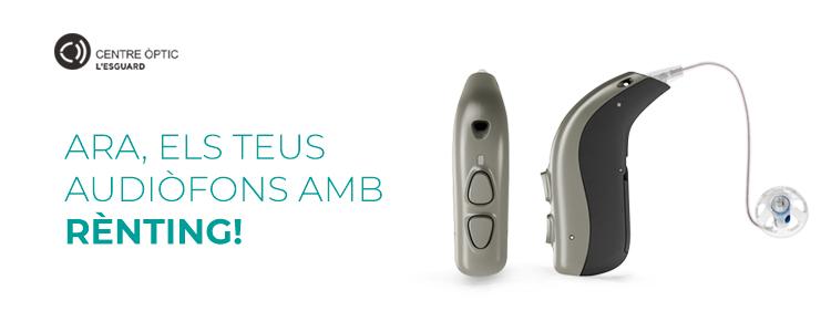 Centre Òptic l´Esguard - els teus audiòfons amb renting