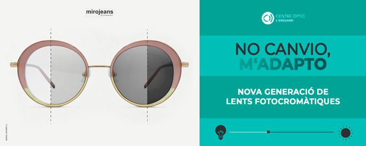 Centre Òptic l´Esguard - ulleres de sol - nova generació de lents fotocromàtiques