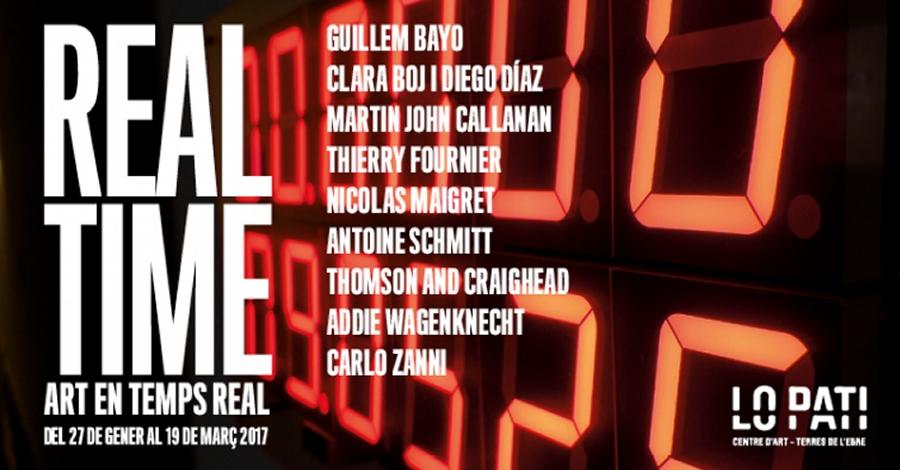 Lo Pati inaugura aquest divendres l'exposició Real Time. Art en temps real