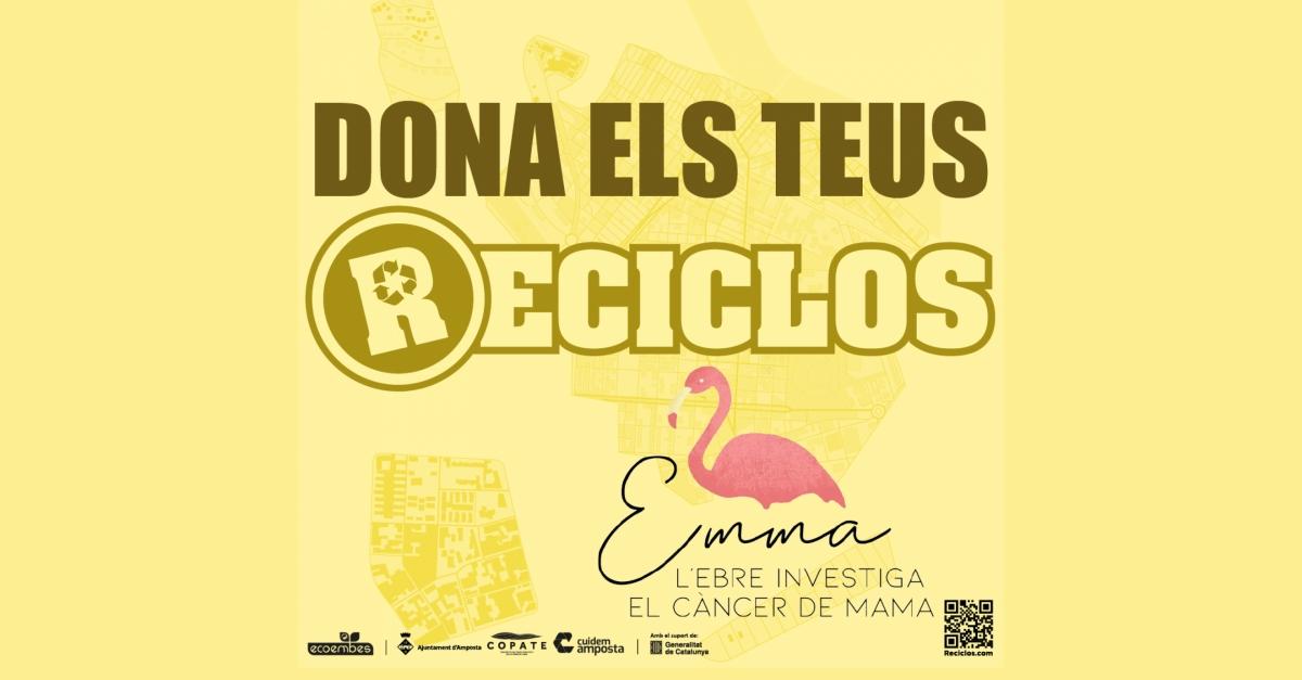 El projecte Emma, nou incentiu a la app Reciclos
