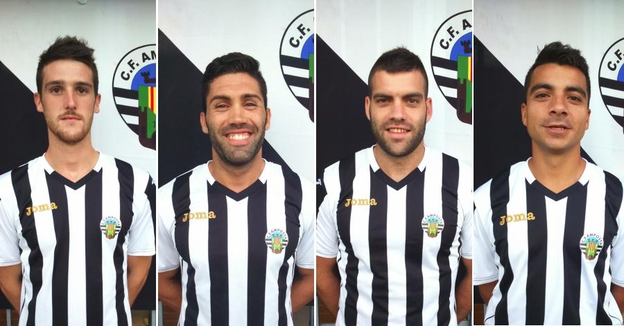 El Club Futbol Amposta comença a preparar la plantilla per a la pròxima temporada