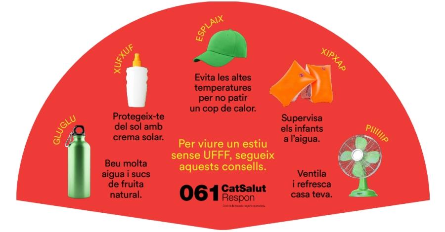 Salut crida a la prevenció per minimitzar els efectes de les onades de calor
