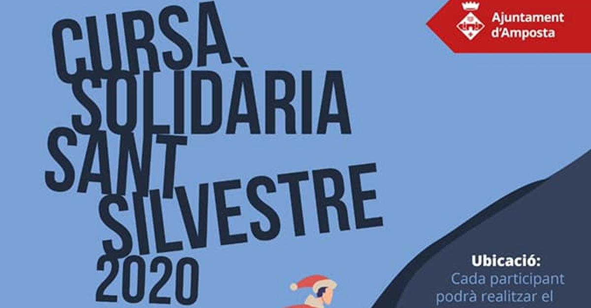 Cursa solidària Sant Silvestre 2020