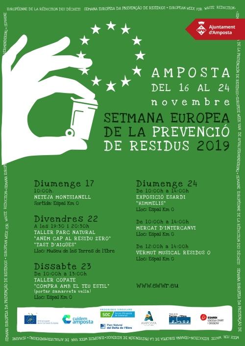 Setmana Europea de la Prevenció de Residus: Neteja al Montsianell