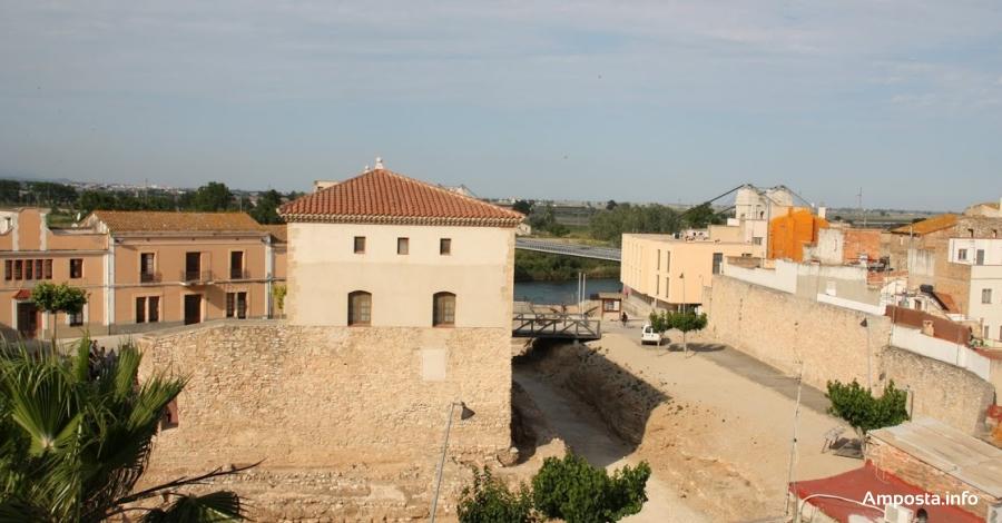 La recuperació de la zona del Castell rep una subvenció de 450.000 euros de l'1,5% cultural