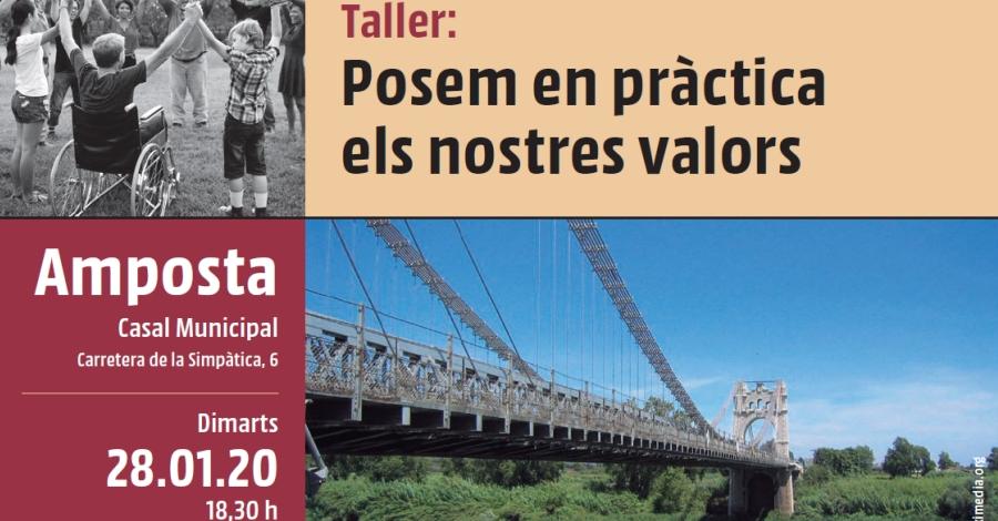 Taller: Posem en pràctica els nostres valors