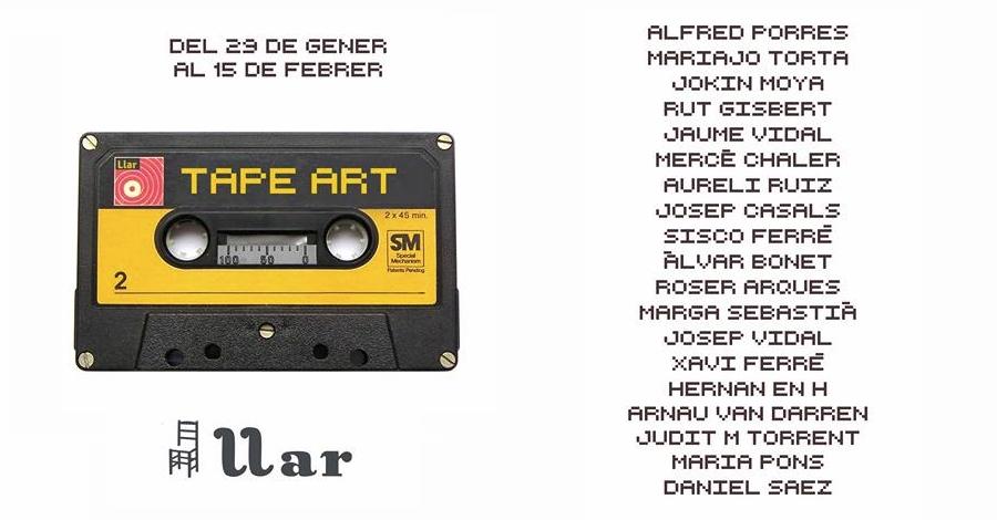 Exposició Tape Art