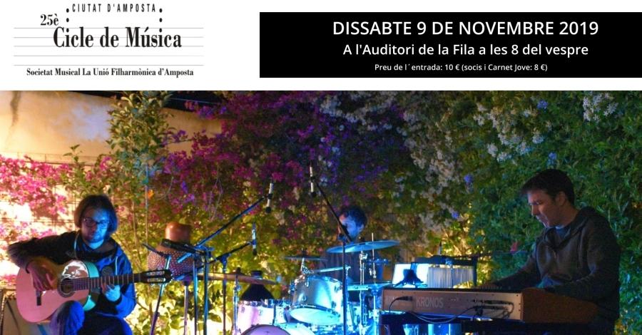 """25è Cicle de Música Ciutat d'Amposta: """"Tawazun"""". Músiques del món"""