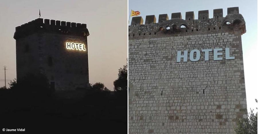 Les torres de la Carrova i Font de Quinto es converteixen en un hotel i un centre de gestions sanitari
