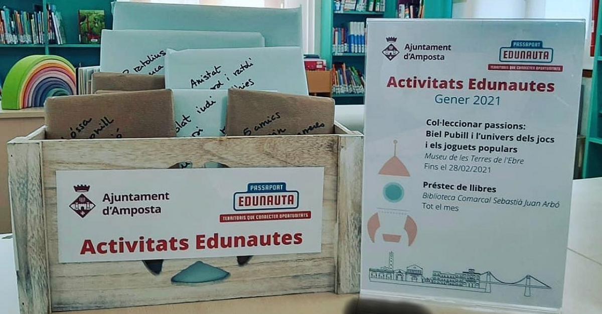 Tret de sortida a les activitats del catàleg del Passaport Edunauta