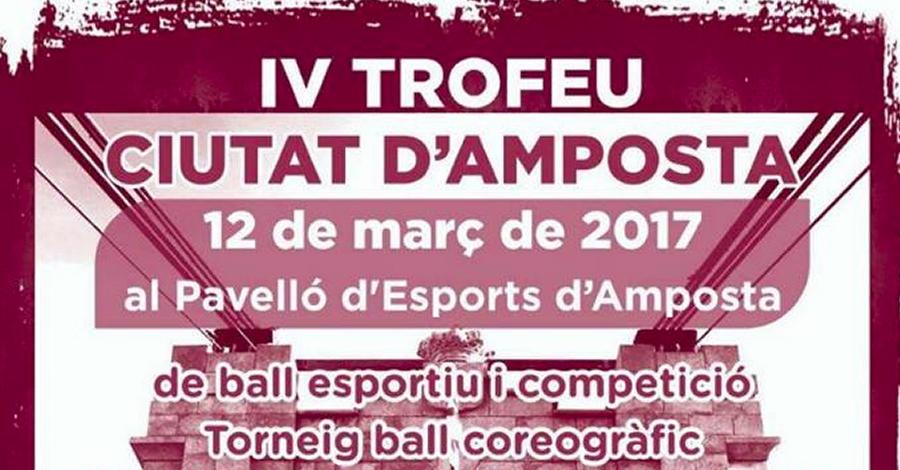 IV Trofeu nacional de ball esportiu Ciutat d'Amposta