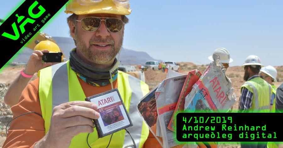 VAG: El primer arqueòleg digital ve a Amposta des de New York