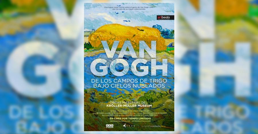 VAN GOGH DE LOS CAMPOS DE TRIGO BAJO CIELOS NUBLADO (documental)