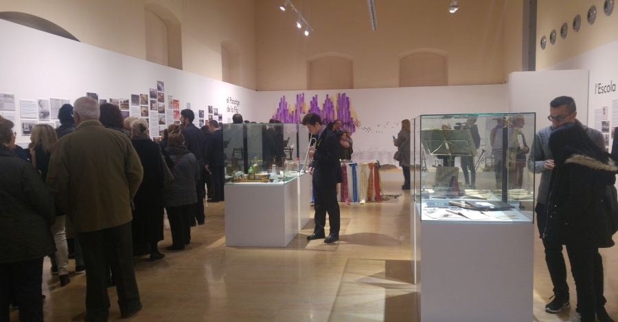 Visita comentada a l'exposició del Centenari de la Unió Filharmònica d'Amposta