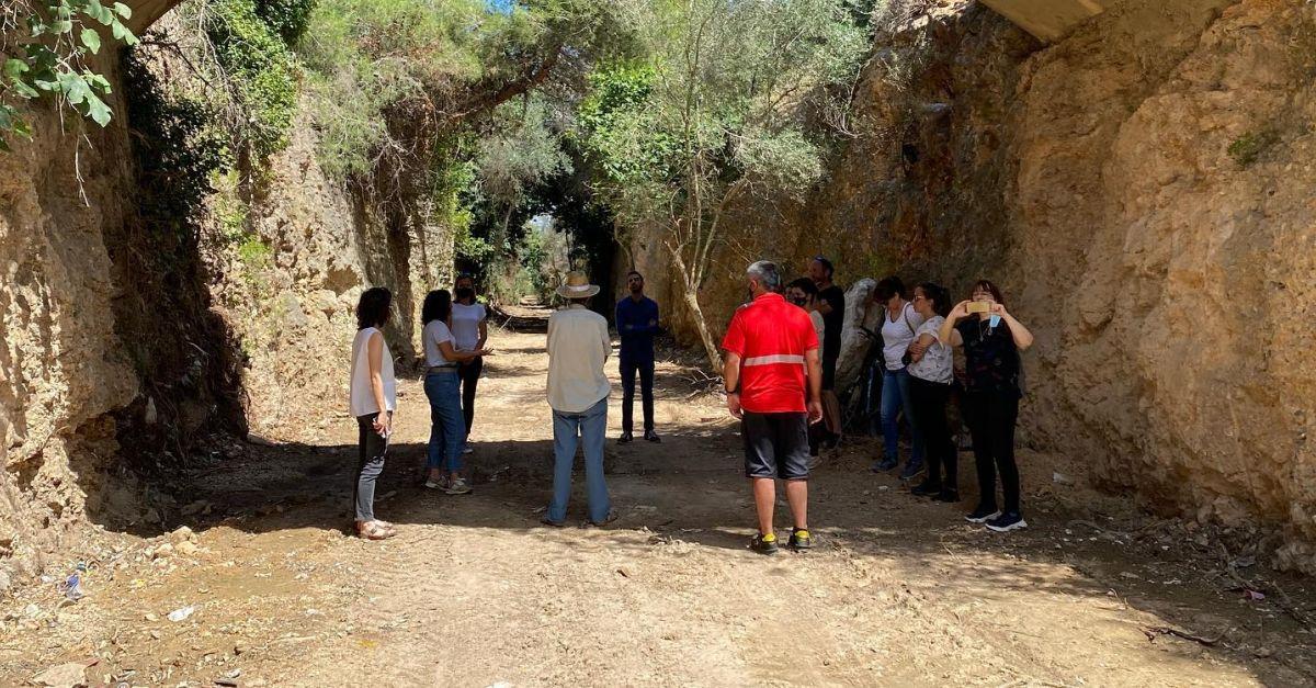 La comissió de seguiment de la Vall de Zafán visita l'espai