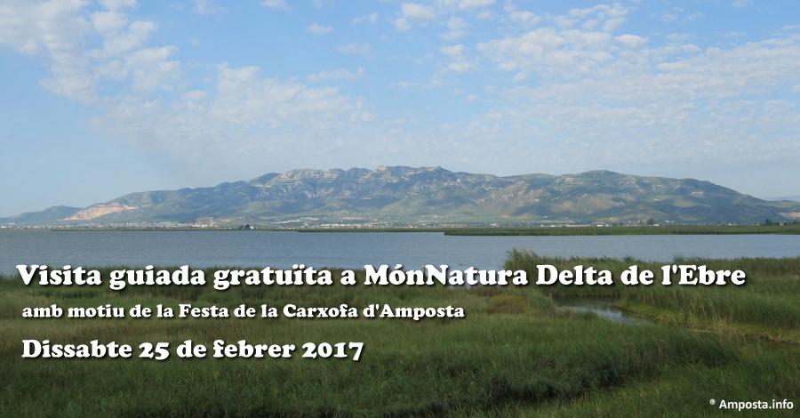 Visita guiada gratuïta a MónNatura Delta