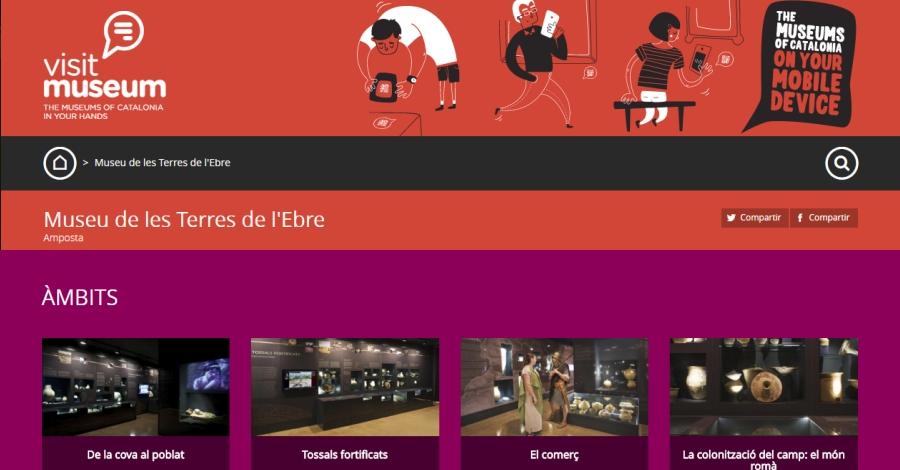 Cultura | El Visitmuseum, nova eina de treball per als alumnes de l'EOI d'Amposta