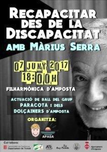 Xerrada: Recapacitar des de la discapacitat, a càrrec de Màrius Serra